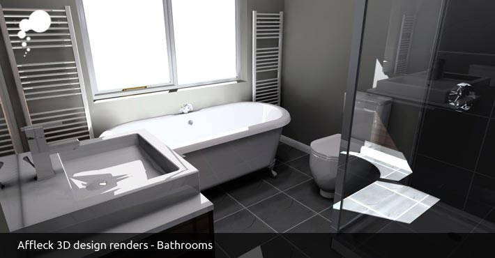Free 3D Bathroom design